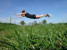 Trail jumping jack pushup