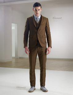 A vegan & eco-friendly suit from Brave Gentleman
