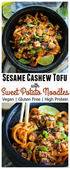 Veggie Recipes, Asian Recipes, Whole Food Recipes, Dinner Recipes, Cooking Recipes, Healthy Recipes, Vegan Tofu Recipes, Free Recipes, Soup Recipes