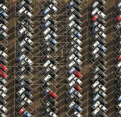 No door dings parking lot design