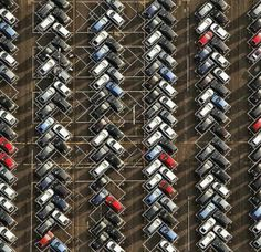 Ford Saarlouis, parking area in Germany Parking Plan, Parking Space, Car Parking, Urban Landscape, Landscape Design, Landscape Architecture, Architecture Plan, Ing Civil, Illusion Pictures
