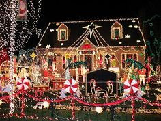 Christmas outside decorations pictures   Outdoor Christmas Decoration Ideas