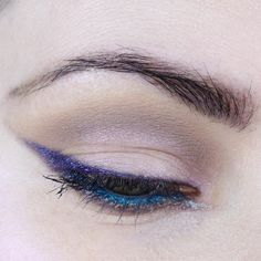 Duochrome Makeup Look featuring Indie Makeup Brands