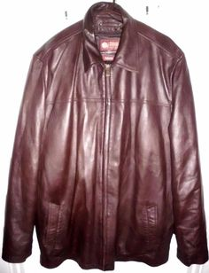 WILSONS Brown Leather Coat w/Thinsulate Zip-In Liner Sz 2XLT Tall Men's EUC | Clothing, Shoes & Accessories, Men's Clothing, Coats & Jackets | eBay!