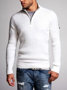 Mock necks on men makes me weak in the knees, silly, but true.