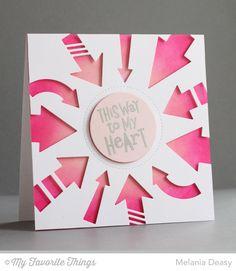 Go with It stamp set and Die-namics, Peek-a-Boo Circle Windows Die-namics - Melania Deasy #mftstamps