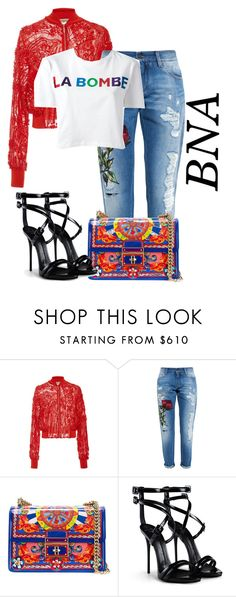 """BNA"" by deborahsauveur ❤ liked on Polyvore featuring Blugirl, Dolce&Gabbana, Giuseppe Zanotti and Être Cécile"