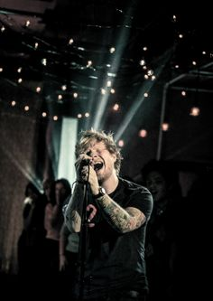 Ed's voice is really soothing. When ever I don't feel good I listen to him and I feel better :) xx