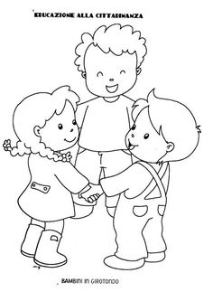 Happy children's day coloring pages - free printable ⋆ بالعربي نتعلم Camping Coloring Pages, Coloring Pages For Kids, Coloring Books, Colouring Pages, Kindergarten Coloring Pages, Kindergarten Activities, Preschool Activities, Simple Line Drawings, Art Drawings For Kids