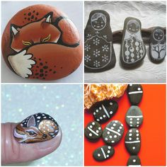 25 Beautiful Painted Rock Projects