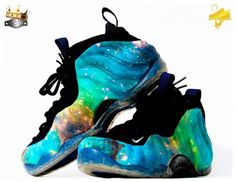 Nike Air Foamposite One Luminous Galaxy Custom