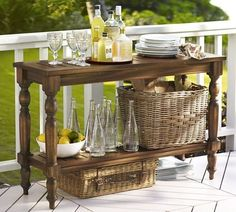 Great indoor/outdoor furniture piece for your get togethers and parties. #furniture #home #outdoors
