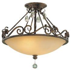 Chateau Semi Flush Ceiling Light Feiss Semi Flush Flush & Semi Flush Lighting Ceiling Ligh