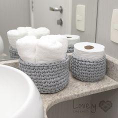 Crochet Home, Diy Crochet, Crochet Crafts, Crochet Dolls, Crochet Projects, Crochet Basket Pattern, Knit Basket, Basket Weaving, Design Your Own Home