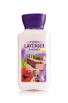 French Lavender & Honey Travel Size Body Lotion - Signature Collection - Bath & Body Works
