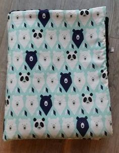Couverture bébé- modèle ours - plaid bébé - couverture fait main : Puériculture par small-sleeper