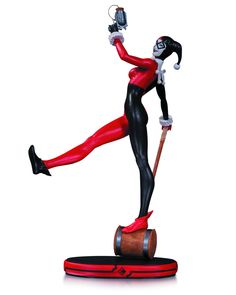 DC Cover Girls Harley Quinn Statue.