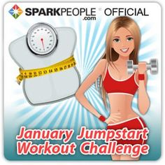 Awesome! Free 28-day workout plan you can do at home! From America's #1 weight-loss and fitness website, SparkPeople.com.