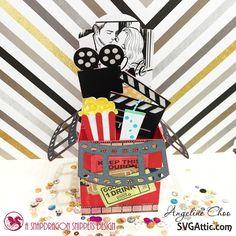 Love Movie Box with SVG Attic
