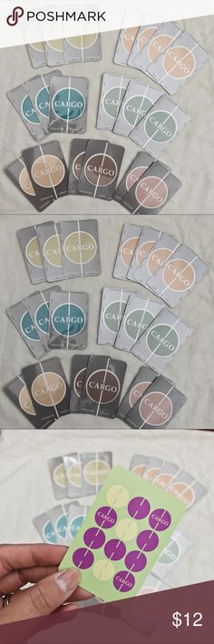 Cargo Bundle Eyeshadow Singles • brand: cargo  • condition: new  • description: single eyeshadow cards, great for travel. all as pictured.    • trying to downsize my closet! bundle to save 💰 + happy shopping! Cargo Makeup Eyeshadow