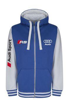 Custom Baseball Hoodie Zipper with Audi Sport Style Baseball Jackets, Sports Baseball, Audi Sport, Hoodie Jacket, Hoodies, Sweatshirts, Sport Fashion, Sweaters, Sporty Fashion