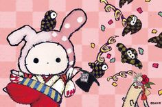 Cute Disney Wallpaper, Kawaii Wallpaper, Sentimental Circus, Cartoon Town, Nyan Nyan, Chibi Food, Sanrio Characters, Circus Party, Cute Chibi