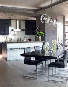 Princípios Da Decoração E Design Na Prática U2013 Post 4. Contemporary Dining  Room LightingContemporary ...