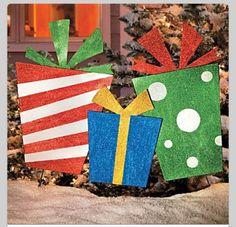 Presents cutouts