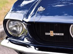 Car Porn: A Dangeously Cool 1967 Shelby Fastback - Airows Ford Gt500, 1967 Shelby Gt500, Ford Mustang Shelby Cobra, Mustang Boss, Ford Classic Cars, Best Classic Cars, Luxury Car Brands, Lifted Ford Trucks, Pontiac Firebird