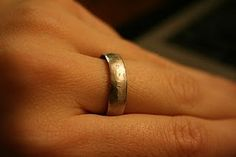 How to make a ring out of a quarter.  You read right. $0.25. DIY tutorial.