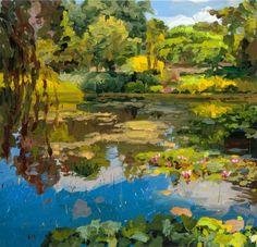 Jan De Vliegher (Belgian, b. 1964), Garden 2, 2014. Oil on canvas, 200 x 200 cm.