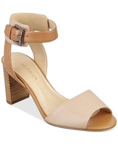 139cfe73af8 Marc Fisher Genette Ankle-Strap Sandals Shoes - Sandals   Flip Flops -  Macy s