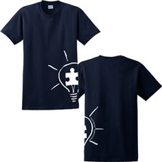 2013 Glow in the Dark Autism Speaks Shirt - WANT!!!!