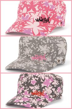 Girls army style caps £9.99