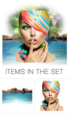 """""""Untitled #733"""" by makeup-queen-anna ❤ liked on Polyvore featuring art"""