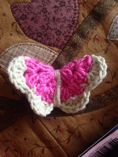 3D Crochet butterfly