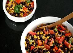 Denny Chef Blog: Insalata di mais dolce con fagioli neri e pomodori
