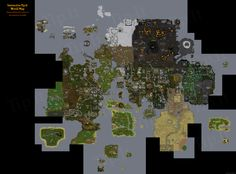 Bigger and Better Runescape map