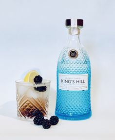 King's Hill Gin bramble fizz cocktail Bramble Cocktail, Gin Recipes, Cocktail Recipes, Cocktails, Gooseberry Gin, Gin Distillery Tour, Scottish Gin, Cocktail