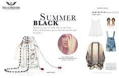 Summer in Black , Zeta Makrypoulia, Black spinel