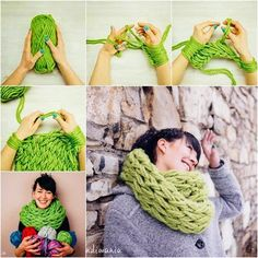 How to make a 30 min arm scarf
