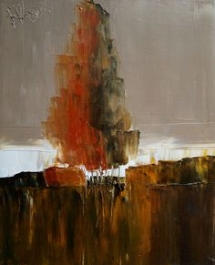"""Saatchi Online Artist: Justyna Kopania; Oil, 2013, Painting """"Autumn"""""""