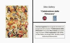 Cita en las Diagonales: Cita con el Arte.Nora Iniesta.Invitación.
