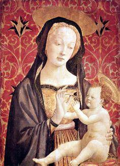 Domenico Veneziano: Madone avec l'enfant