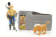 Vintage Cobra GI Joe 1989 Dreadnok Gnawgahyde 100% Complete w/ File Card!  #GIJoe #Cobra #Hasbro