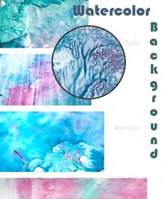 Watercolor Set Texture