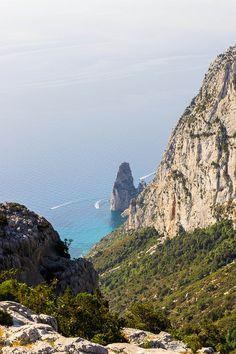 Monte Giradili, Pedra Longa cliff, Sardinia, Italy