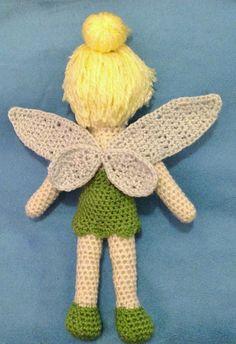 Tinkerbell Crochet Doll Free Pattern