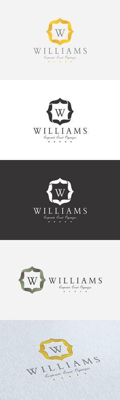 Event Organizer Logo. Wedding Fonts