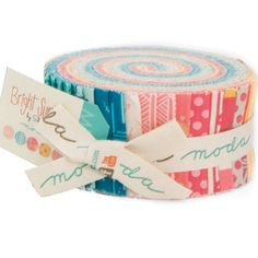 Bright Sun Jelly Roll by Sherri & Chelsi for by crazyquiltgirl